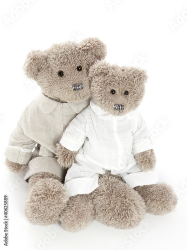 Two teddybears