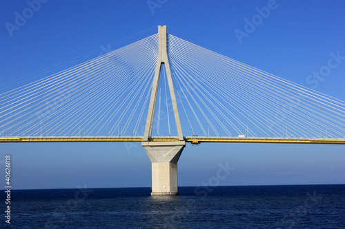 Cable-stayed bridge, Greece