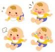 赤ちゃん 表情