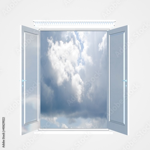 Window to the sky.