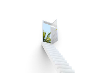Stairway to the Travel.