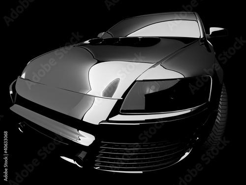 Foto op Canvas Snelle auto s My own 3D car design