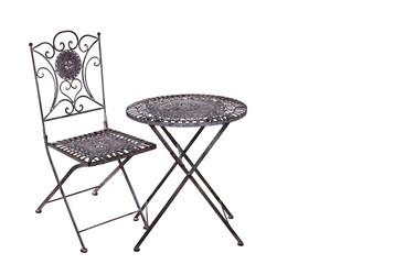Gartenmöbel aus Eisen