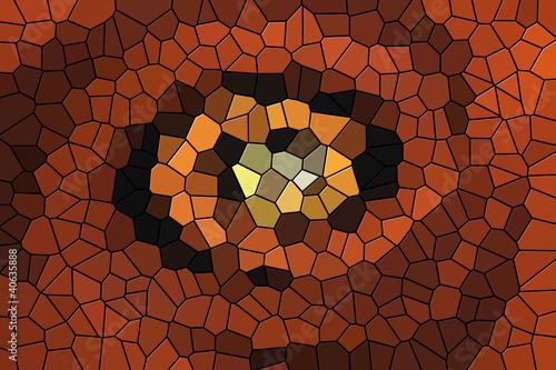 Fototapeten,orange,eye,kunst,abstrakt