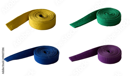Set of belts
