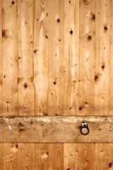 Pferde anbinder Holzwand