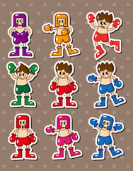 boxer stickers