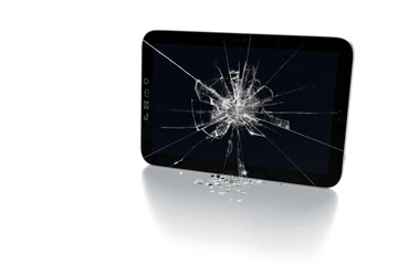 Tablet-PC Touchscreen Glasbruch