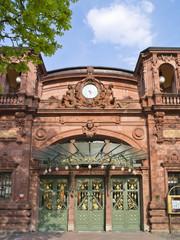 Eingang der Stadthalle