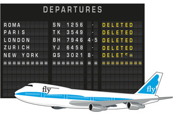 aeroporto - partenze