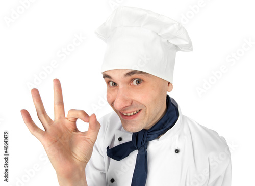 chef making ok sign