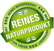 """Button Banner """"100 % Naturprodukt"""" grün"""