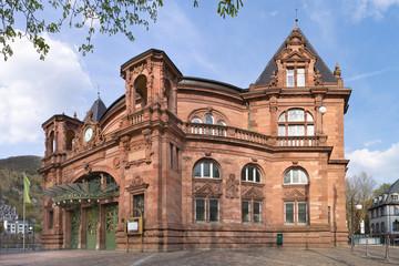 Gebäude der Stadthalle Heidelberg