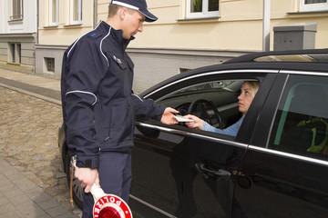 allgemeine Verkehrskontrolle