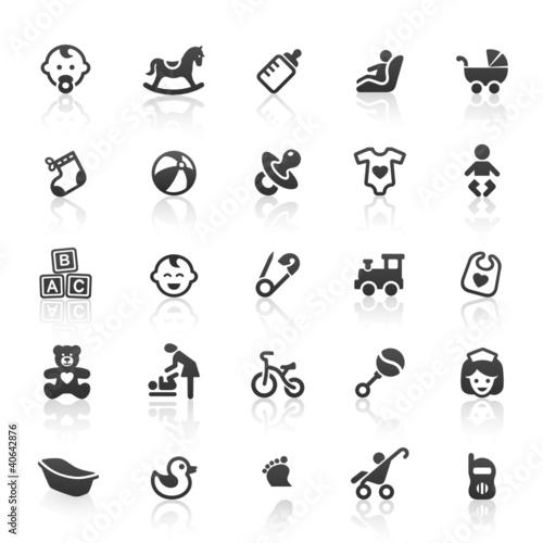 Black Baby Icons