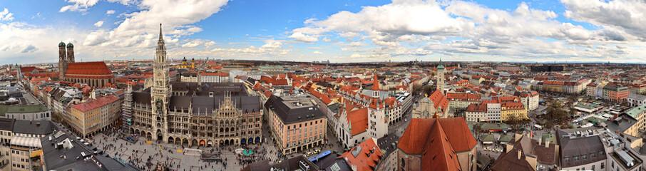 München Innenstadt Panorama