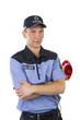 Polizei in Uniform