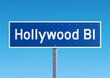 Panneau - Hollywood Bl