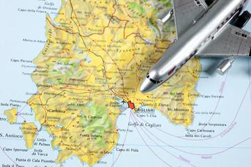Fly to Cagliari Sardegna
