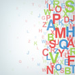 Colour jumbled letters