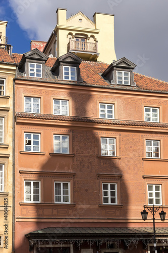 Sights of Poland. Warsaw Old Town