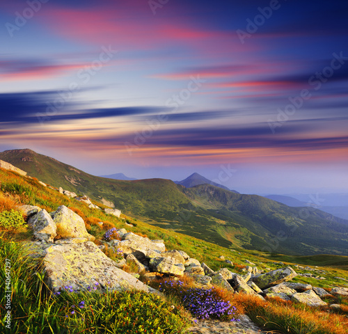 mountain landscape - 40647297