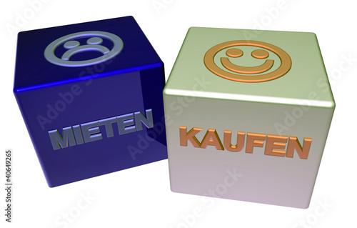 3D Doppelwürfel II - MIETEN - KAUFEN