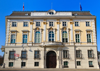 Office of the federal chancellor of Austria in Vienna