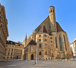 Church of the Minorites (Minoritenkirche) - Vienna, Austria