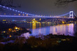 Fatih Sultan Mehmet Bridge at the night 6