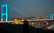 Fatih Sultan Mehmet Bridge at the night 4
