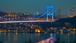 Fatih Sultan Mehmet Bridge at the night 3
