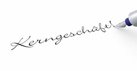 Stift Konzept - Kerngeschäft!
