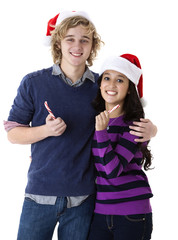 candy cane couple