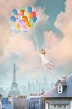Fototapety Balloon Girl