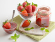 strawberries marmalade