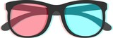 3d Glasses with chromatic aberration