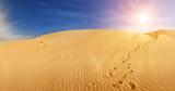 Fototapety Sand dunes in Sahara