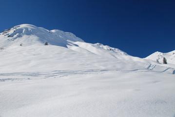 Paesaggio alpino, Vorarlberg, Austria