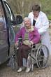 Déplacements en fauteuil roulant