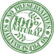 Grunge no preservatives 100 percent natural rubber stamp