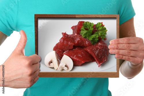 Fleisch ist gesund