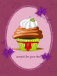 Muffin, Cupcakes mit Schmetterling