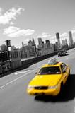 Fototapety cap brooklyn bridge grey