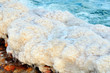 Dead Sea Salt Detail in Israel