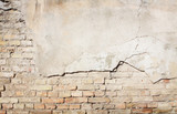 Brick grunge wall background