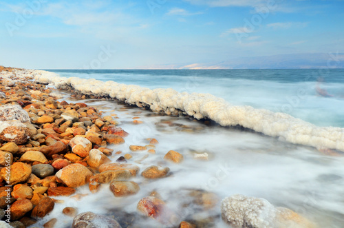 Dead Sea Shore near Ein Gedi, Israel
