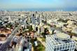 Tel Aviv Skyline looking towards the Mediterranean Sea