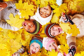 Autumnal  kids
