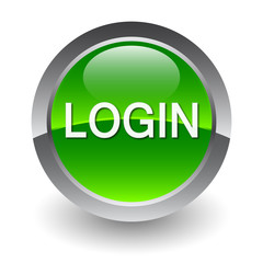 login green button
